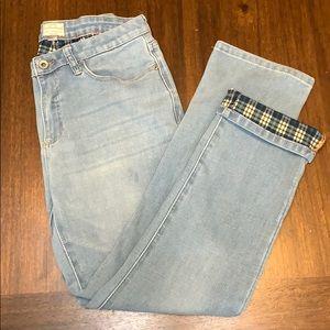Weatherproof   vintage flannel lined jeans